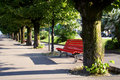 Free Red Bench Stock Photo - 6729880