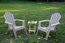 Free Backyard Autumn Stock Image - 6720081