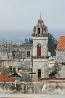 Free Colonial Church, Havana Stock Photo - 6720410