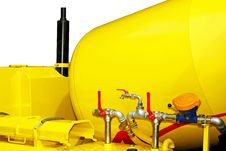 Free Concrete Mixer Stock Image - 6721081