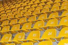 Free Seats In Stadium Royalty Free Stock Image - 6721176