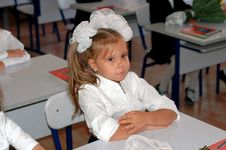 Free Girl At School Stock Image - 6721391