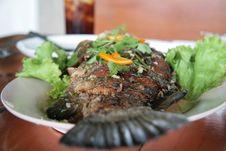 Free Fried Thai Fish Royalty Free Stock Photo - 6721515