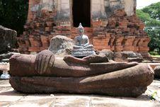 Free Buddha In Ayutattaya Royalty Free Stock Photos - 6721548