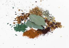 Cooking Spices Royalty Free Stock Images