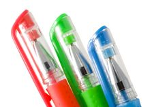 Free Trio Pens Royalty Free Stock Photos - 6722038