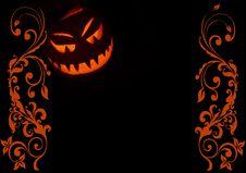 Free Jack-o -lantern Illustration 2 Stock Image - 6722081