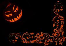 Free Jack-o -lantern Illustration 3 Royalty Free Stock Photography - 6722097