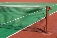 Free Tennis Court With A Net Stock Photos - 6722473