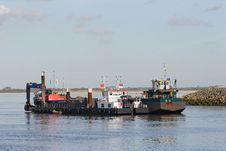 Free Work Boat Stock Image - 6723131