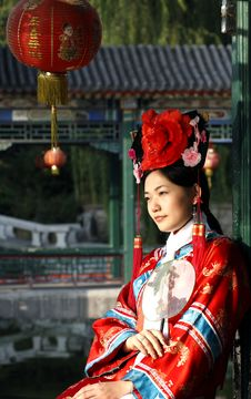 Free Classical Beauty In China. Royalty Free Stock Photo - 6723135