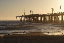 Free Pier Sunset Stock Photos - 6723143