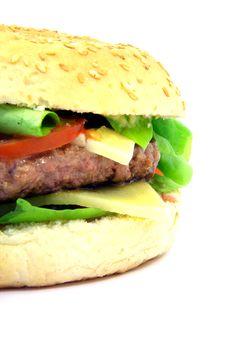 Free Hamburger Close-up 2 Stock Images - 6723214