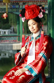 Free Classical Beauty In China. Stock Photo - 6723220