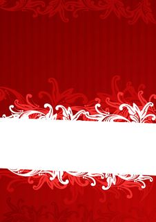 Free Vector Illustration Of Red Wallpaper Royalty Free Stock Photo - 6723255