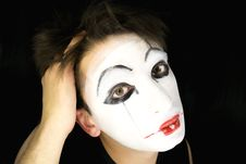 Free Portrait Of The Mime Stock Images - 6723454