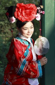 Free Classical Beauty In China. Royalty Free Stock Photo - 6723925