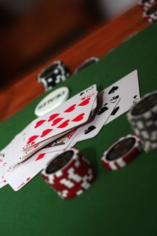 Poker 11 Royalty Free Stock Photo