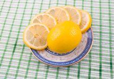 Free Tasty Fragrant Sour Lemon Royalty Free Stock Image - 6724386