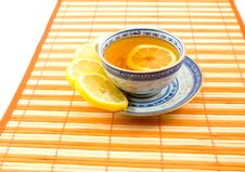 Free Useful Tea With Lemon Royalty Free Stock Photography - 6724527