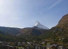 Free View On Matterhorn Stock Image - 6724681