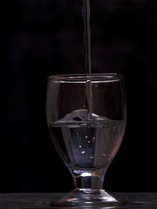 Free Water In The Glass Royalty Free Stock Photo - 6724905