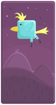 Free Vector Illustration Of A Funny Bird Stock Photo - 6724930