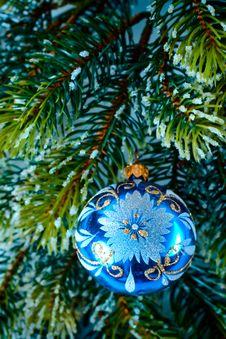 New-year Tree Decoration Royalty Free Stock Photos