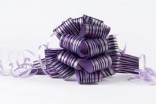 Free Purple Bow Stock Images - 6725824