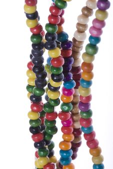 Free Colorful Beads Stock Images - 6725964