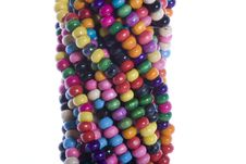 Free Colorful Beads Royalty Free Stock Photography - 6726137