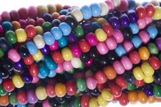 Free Colorful Beads Stock Photography - 6726212