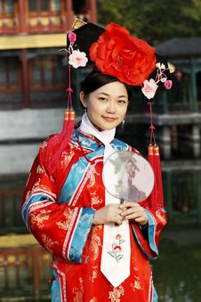Free Classical Beauty In China. Royalty Free Stock Images - 6726399