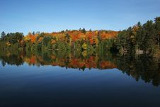 Free Autumn Colors In Reflection Royalty Free Stock Photos - 6726408