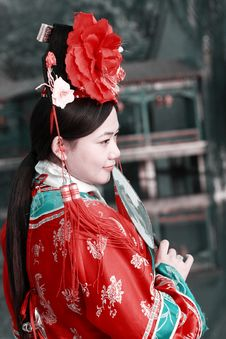 Free Classical Beauty In China. Royalty Free Stock Photos - 6726438