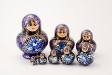 Free Russian Stacking And Nesting Dolls Royalty Free Stock Image - 6726456