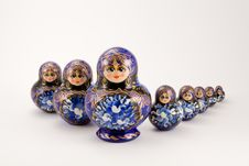 Free Russian Stacking And Nesting Dolls Stock Photos - 6726463
