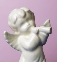 Free Angel Cherub Icon Statue Stock Photography - 6727772