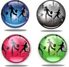 Free Morning Activity In The Orbs Royalty Free Stock Photography - 6728177