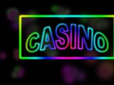 Free Casino Sign Royalty Free Stock Photography - 6728687