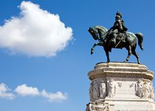 The Victor Emmanuel Monument Royalty Free Stock Images