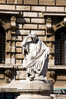 Free Statue In Rome Stock Photography - 6729032