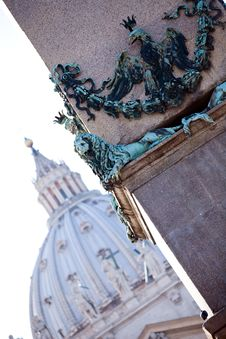 Free View Of The Vatican Stock Photos - 6729033