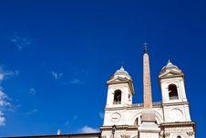 Free Church Trinita Dei Monti Stock Images - 6729034
