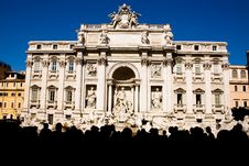 Free Trevi Fountain In Rome Stock Photos - 6729043