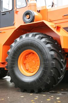 Free Wheeled Tractor Stock Photo - 6729170