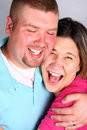 Free Man And Woman Laughing Stock Photography - 6731682