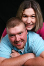Free Man And Woman Smiling Stock Photography - 6731862
