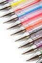 Free Color Ballpoint Pens Stock Photos - 6735413