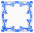 Free Blue Frame Fractal Royalty Free Stock Photography - 6735707